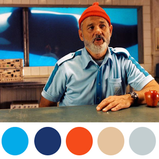 Wes Anderson's Taste in Color