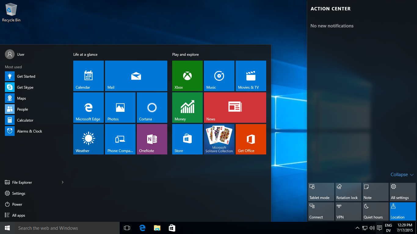 Windows 10 review the next generation of microsoft is for Microsoft windows