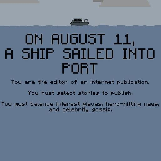 A Ship Sailed Into Port: On Bias, Controversy and My Friends' Games