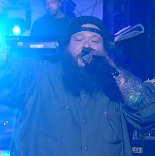 """Watch Action Bronson Perform """"Baby Blue"""" with Chance the Rapper on <i>The Late Show</i>"""