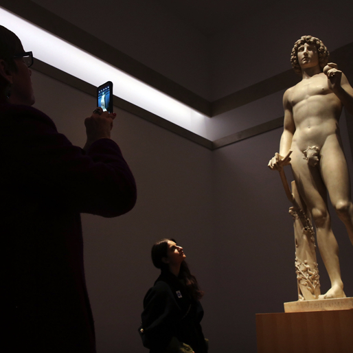 "Shattered ""Adam"" Sculpture Gets a Digital Makeover at the Met"