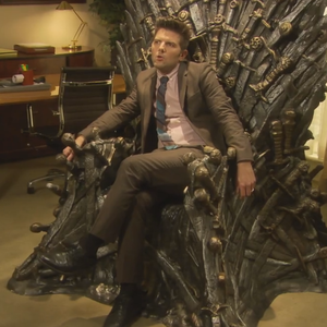 Watch Adam Scott Freak Out on <i>Game of Thrones</i> in a <i>Parks & Rec</i> Deleted Scene