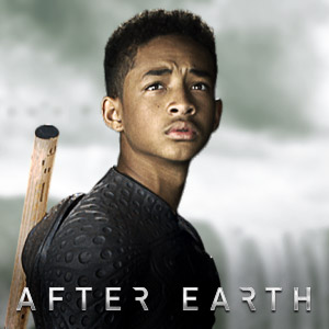 AFTER EARTH… I didn't hate it, but Shyamalan's H'wood career may be over