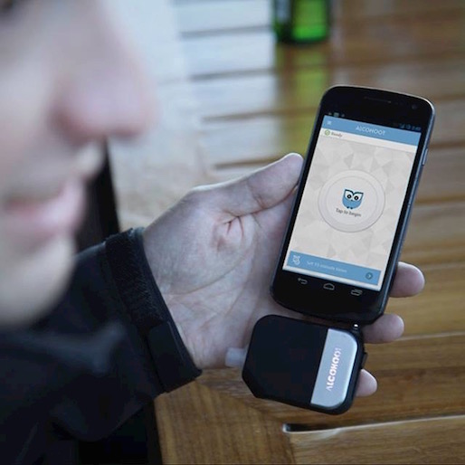 The Alcohoot Smartphone Breathalyzer Is your Electronic Drinking Buddy