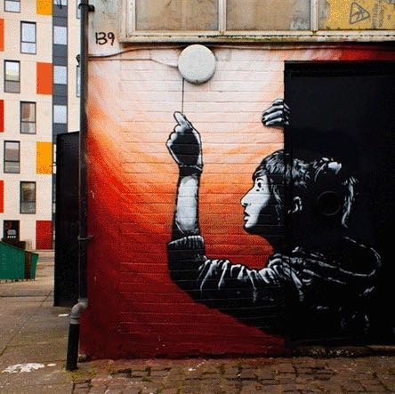 A.L. Crego Turns Street Art Into Beautifully Animated GIFs