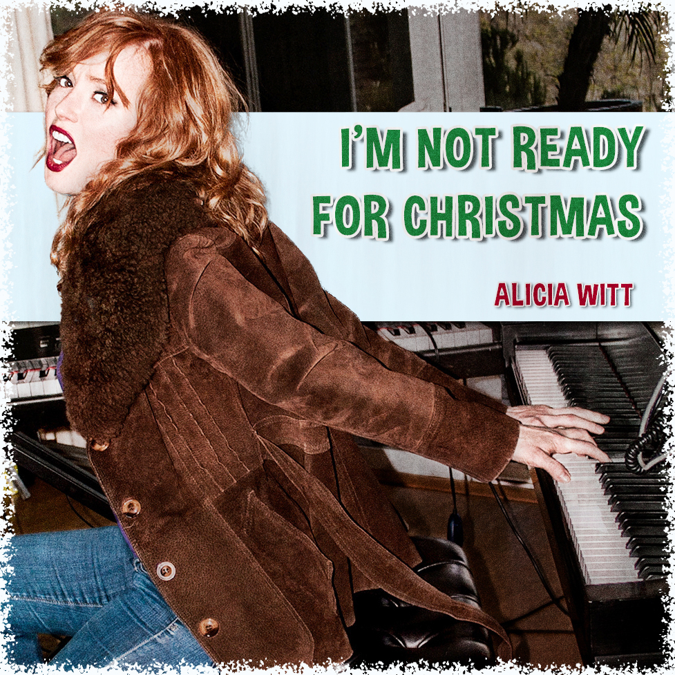 """Hear Alicia Witt's Great New Un-Christmas Song """"I'm Not Ready For Christmas"""""""
