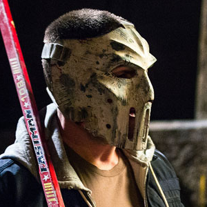 Michael Bay Debuts First Look at Stephen Amell as Casey Jones in <i>TNMT 2</i>