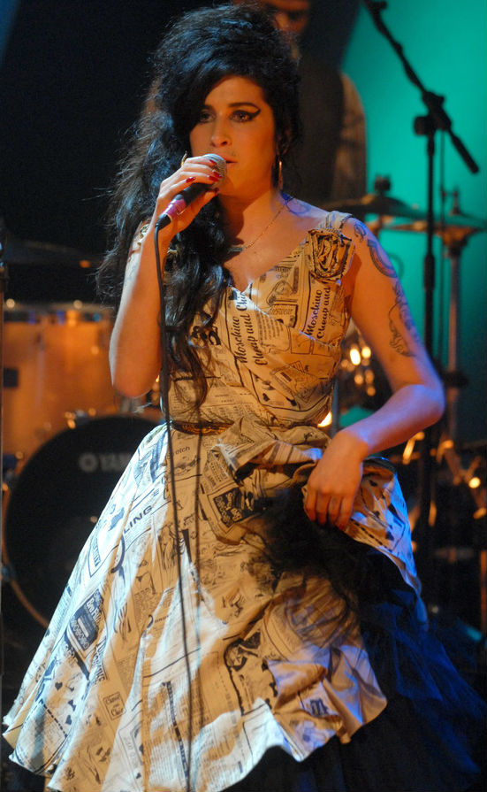 Two Dresses Stolen From Amy Winehouse's London Home