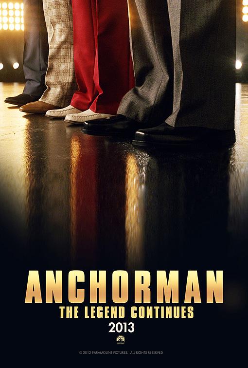 <i>Anchorman 2</i> Movie Poster Revealed