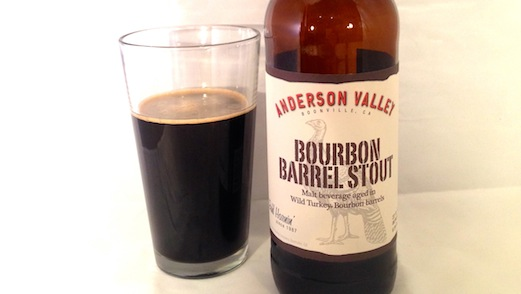 Anderson Valley Bourbon Barrel Stout Review