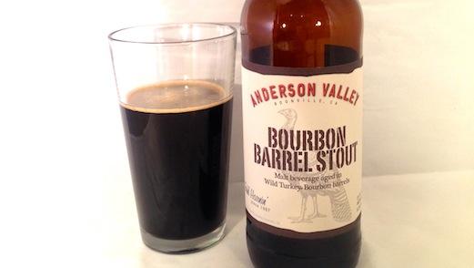 Anderson Valley Bourbon Barrel Stout Review