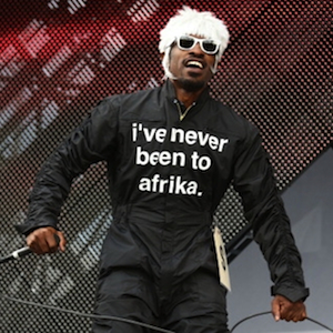 """André 3000 Speaks About His Jumpsuit Exhibit """"i feel ya"""""""