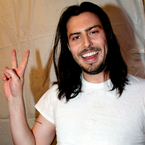 Andrew W.K. Attempting to Break Drumming World Record