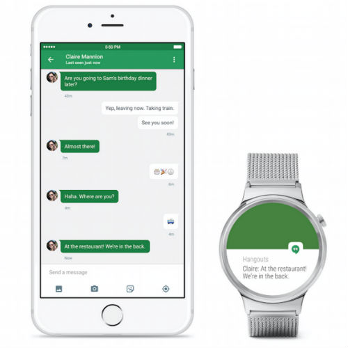 Watch Out Apple Watch: Android Wear is Coming to iPhone