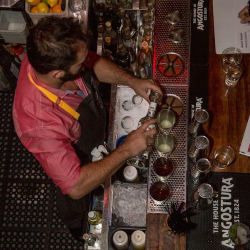 Behind the Bar at Angostura's U.S. Cocktail Championship Semifinals