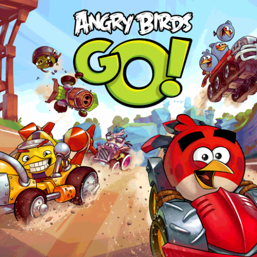 Mobile Game Review: <em>Angry Birds Go!</em>