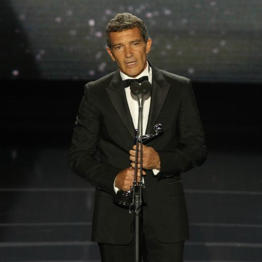 Antonio Banderas Heads to Fashion School