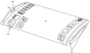 Apple Patent Suggests Wrap-Around iPhone Display