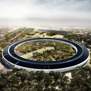 20 Renders of Apple's Futuristic Spaceship Headquarters