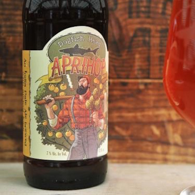 See the Evolution of Dogfish Head's Aprihop Label