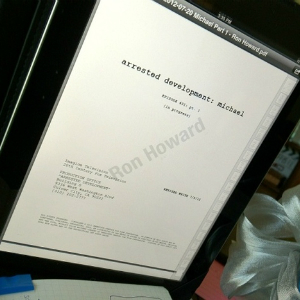 Ron Howard Tweets Photo of <i>Arrested Development</i> Script