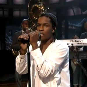Watch A$AP Rocky's <i>Fallon</i> Performance