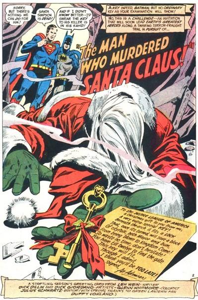 7 Of The Best Santa Claus Comic Book Cameos Comics