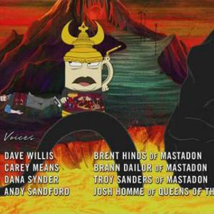 Josh Homme, Members of Mastodon Guest Star on <i>Aqua Teen Hunger Force</i>
