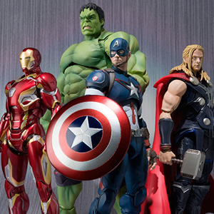 Bandai Officially Reveals <i>Age of Ultron</i> Figuarts Line