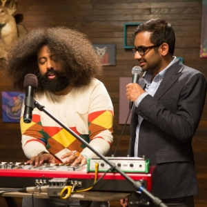 Watch Aziz Ansari, Reggie Watts Sing About Sandwiches on <i>Comedy Bang! Bang!</i>