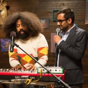 Watch Aziz Ansari, Reggie Watts Sing About Sandwiches on <i>Comedy Bang! Bang!</i>