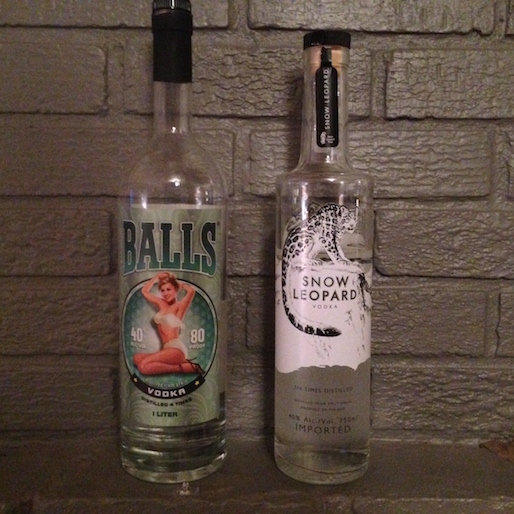 Balls and Little Pickles: Vodka is Good Again