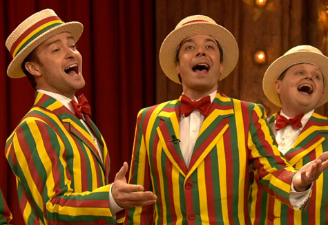 "Watch Justin Timberlake Perform ""SexyBack"" on <i>Jimmy Fallon</i>"