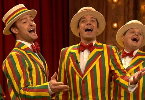"""Watch Justin Timberlake Perform """"SexyBack"""" on <i>Jimmy Fallon</i>"""