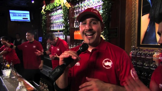 Vegas Bartender Crowned World's Fastest By Guinness