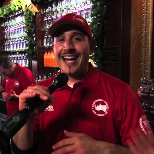 Vegas Bartender Crowned World's Fastest By Guinness