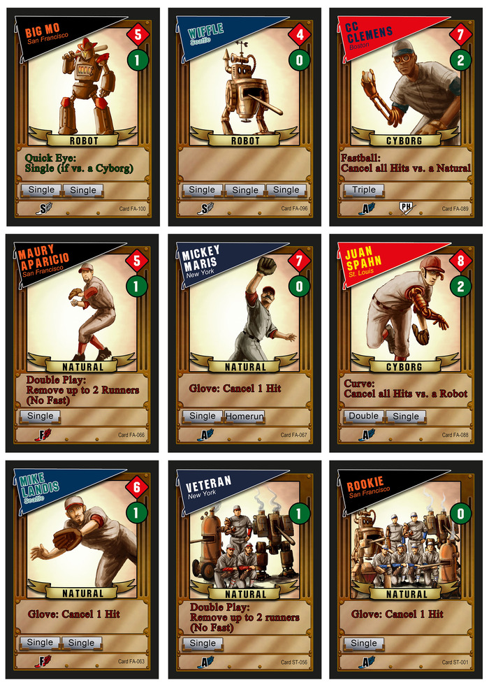 Baseball Highlights 2045 Boardgame Games Baseball Paste