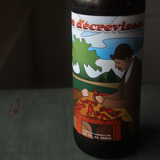 The Ultimate Crawfish Beer: Bayou Teche Saison D'Ecrevisses Review