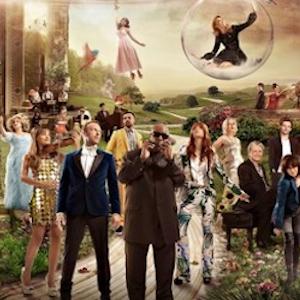Elton John, Pharrell, Stevie Wonder, and Party of Celebrity Musicians Cover the Beach Boys