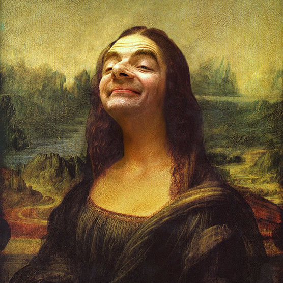 Photo Artist Hilariously Inserts Mr. Bean into Classic Paintings