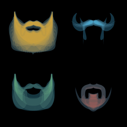 Bartspektrum: Spectrum Of Beards