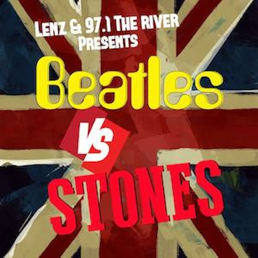 "Atlanta ""Beatles vs. Stones"" Event Set to Help Fight Poverty"