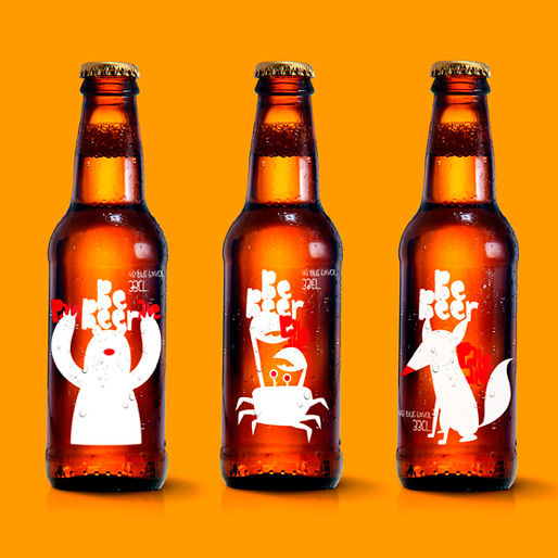 Bebeer Takes Animated Approach To Label Design