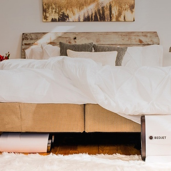 Bedjet is a Thermostat for Your Bed