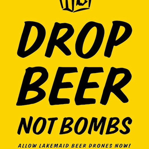 Drones May Be The Future Of Beer Delivery. Maybe.