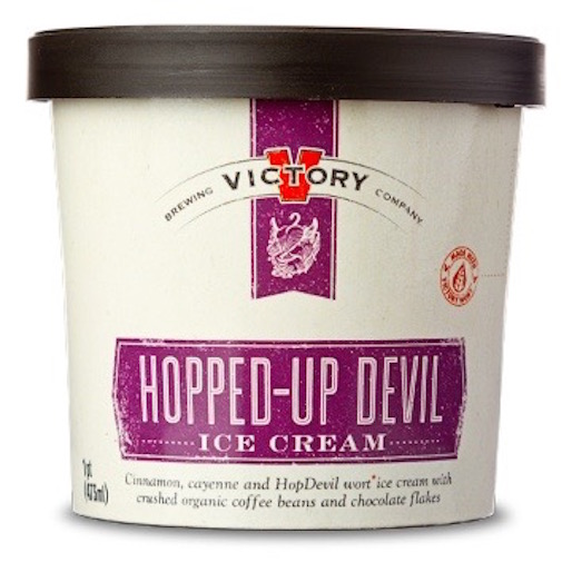 Beer and Ice Cream Together At Last