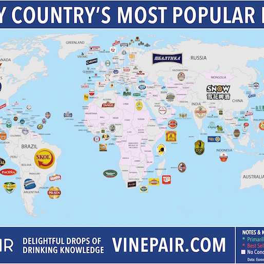 Around the World in Beer: Every Country's Most Popular Beer