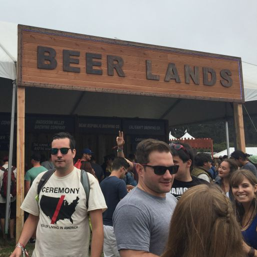 Beer Lands at Outside Lands is a California Beer Lover's Dream