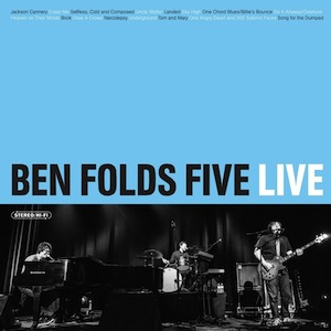 Watch Ben Folds Five's <i>Conan</i> Performance, Stream Live Album