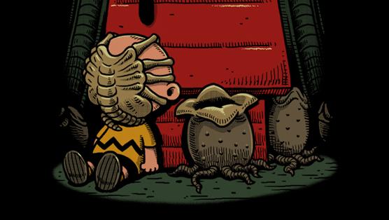 Artist Ben Chen Gives Childhood Favorites a Darkly Comic Twist